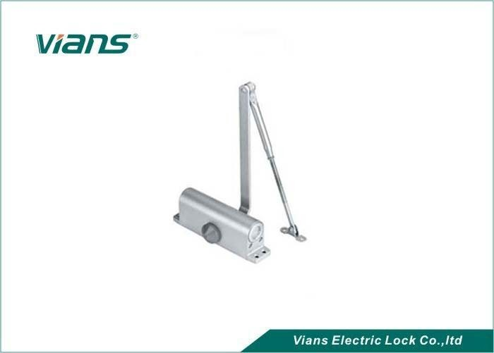 Aluminium Automatic Door Closer For Glass Door / Steel Door , Access Control System