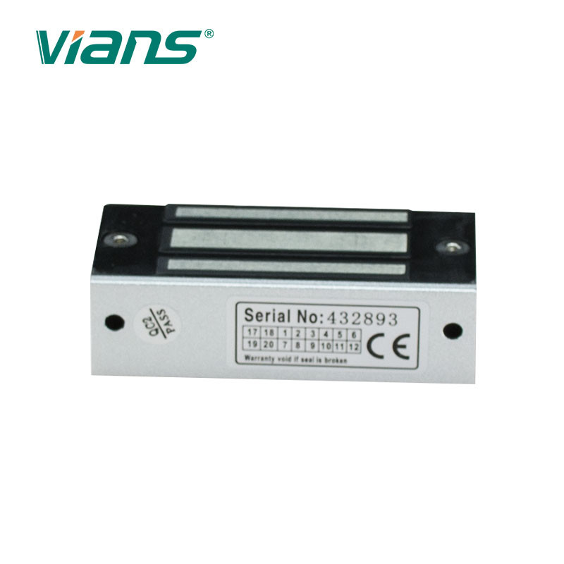 Small Cabinet Electric Magnetic Lock 60kg 120lbs Holding Force 12V DC VI-60A